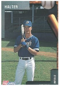 Shane Halter, 1992.