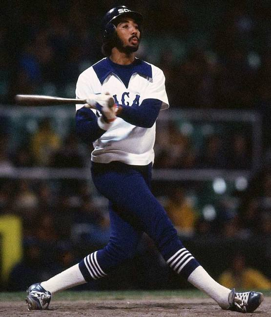 Harold Baines. Great player...horrible uniform.
