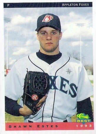 Shawn Estes as an Appleton Fox in 1993.