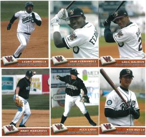A few of the Rattlers involved in their NINE walkoff wins during the 2007 season.