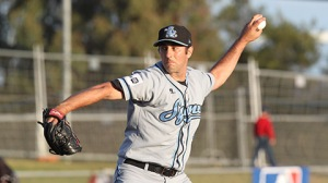 Craig Anderson as a member of the Sydney Blue Sox (SMP Images/Brett Crockford)