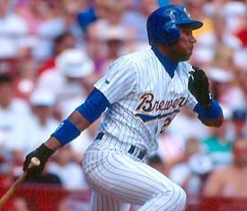 Once a Brewer, always a Brewer.  By the way, Darryl Hamilton figures into a great story that will be covered in a future MLB Memory Lane.
