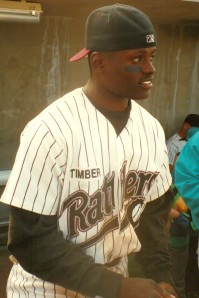 "Joe Mathis scored the ""walkoff"" run at least twice during the 1995 Timber Rattlers season."