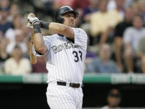 I don't think  that Larry Walker has to buy a drink in Colorado.  Photo Credit:  Brian Bahr