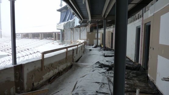 Here's another look at the old suites.