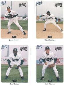Which of these Rattlers had the most walkoff hits in 1996?