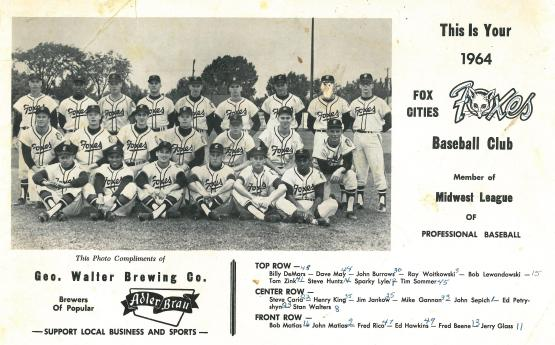 Still an Orioles affiliate in 1964. But, what did Sparky Lyle do to deserve that?