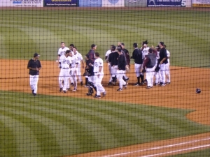 This was the Timber Rattlers final walkoff victory of the Mariners Era.