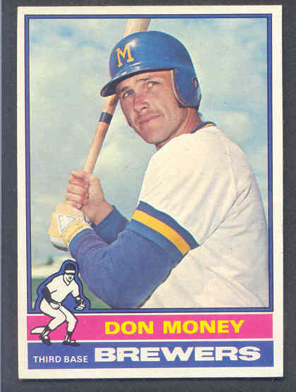 Don Money's 1976 Topps Card