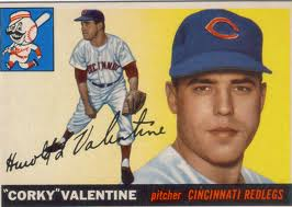 "Nothing says love like the name Harold ""Corky"" Valentine."