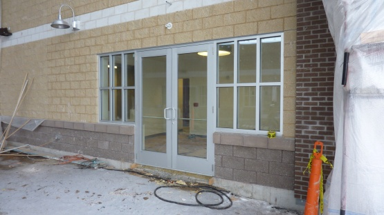 Front office entrance.