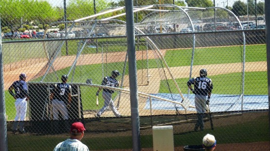 Mitch Haniger takes some cuts on Diamond #5