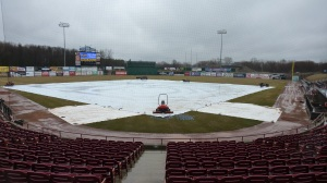I am already sick of seeing the tarp on the field.