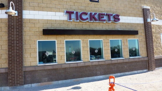 The new ticket windows!