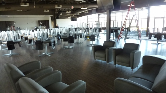 Club level furniture!