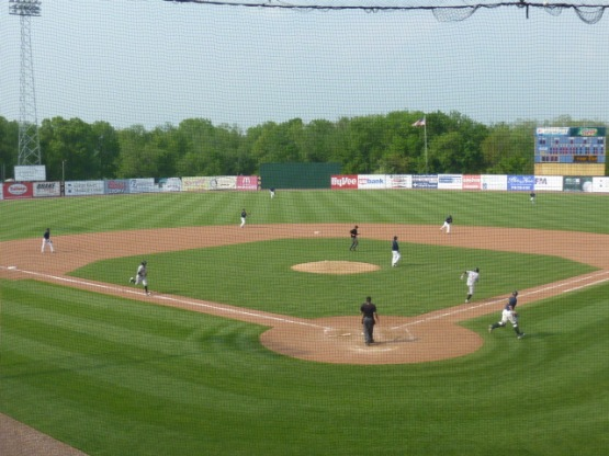 The Timber Rattlers lost their second straight game with a 6-4 defeat at the hands of the Bees on Sunday.