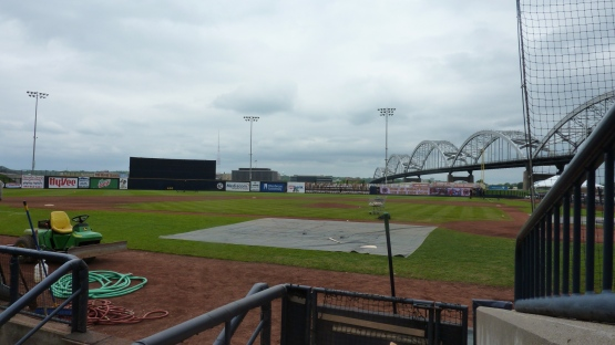 Pregame at Modern Woodmen Park on May 22, 2013