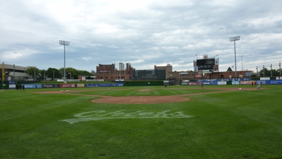 Pregame at Dozer Park in Peoria on May 25, 2013.