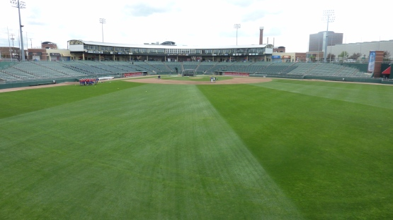 Jackson Field at Cooley Law School Stadium on May 3, 2013.