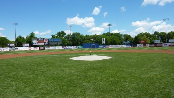 What a great day for baseball in Beloit!