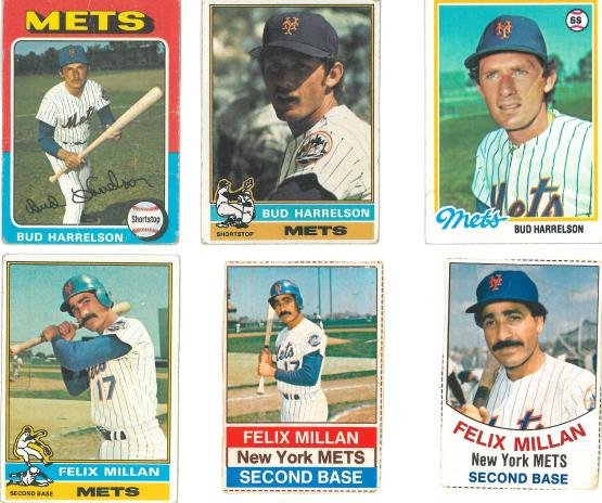 Those first two Felix Millan cards have got to be from the same photo shoot.