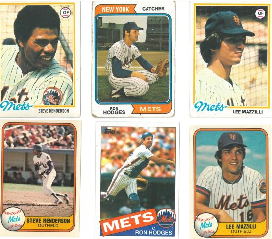 Mets through the years.