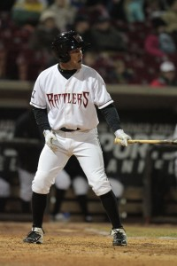 Alfredo Rodriguez hit in the leadoff spot more than any other Rattler this season.