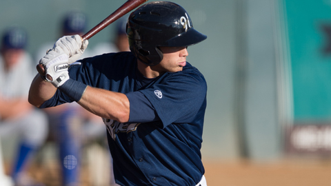 Michael Ratterree, the MVP of the Pioneer League, was listed as a Top 20 Prospect in the league by Baseball America. (Photo Credit: Helena Brewers)