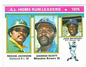 AL Home Run Leaders of 1975.