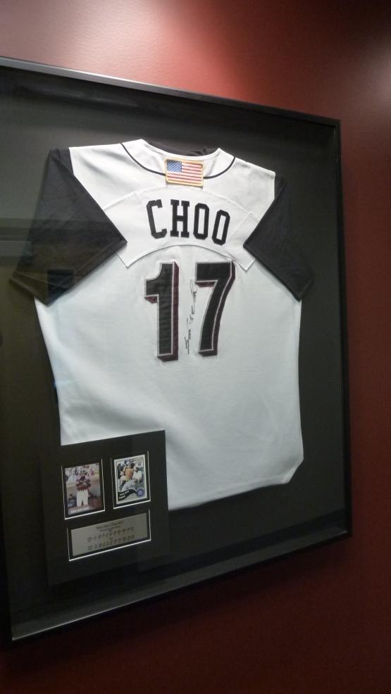Choo's '02 home jersey.
