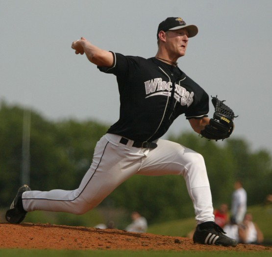 Austin Bibens-Dirkx makes a pitch in 2006.