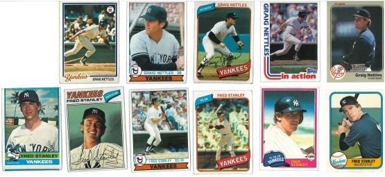 Craig Nettles cards were cool.