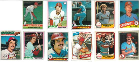 Now that I see them all laid out like that...That does seem like a lot of Keith Hernandez cards.
