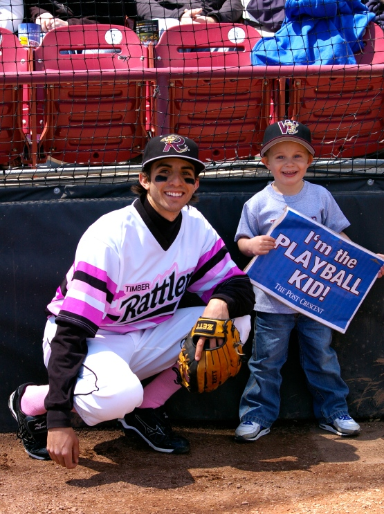 (L to R): Michael Marseco, Play Ball Kid.