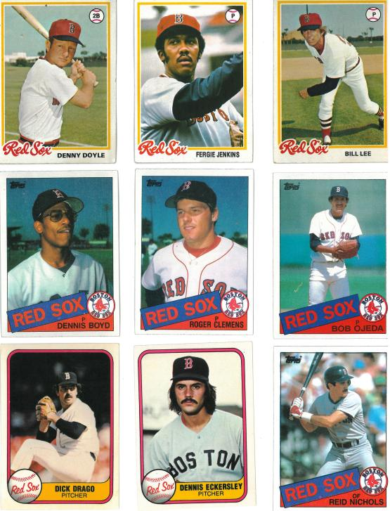 I appear to have a lot of Bill Lee cards from a lot of different teams.