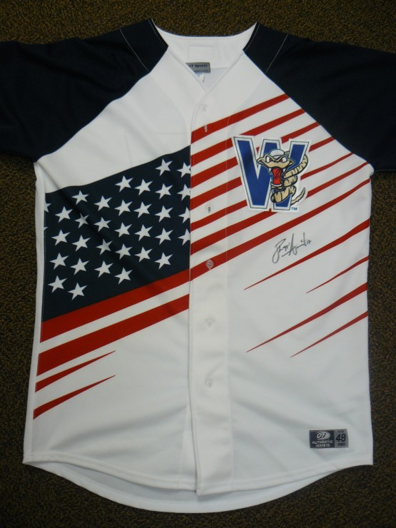 Phillippe Aumont's Stars & Stripes jersey.