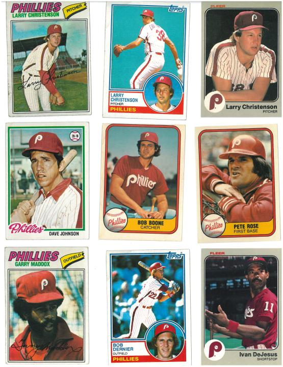 De Jesus was traded to the Phillies from the Cubs in 1982 for Larry Bowa and Ryne Sandberg.