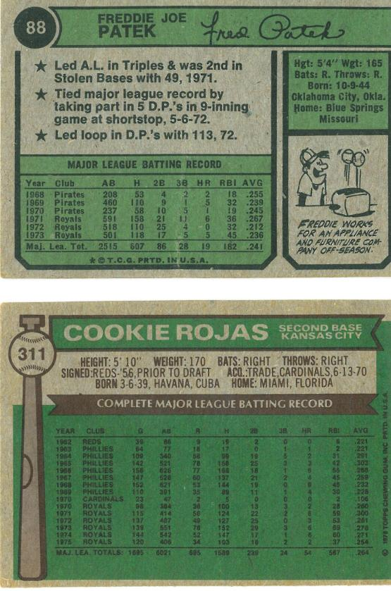 Have I mentioned that I love those 1974 cards? Well, I do.