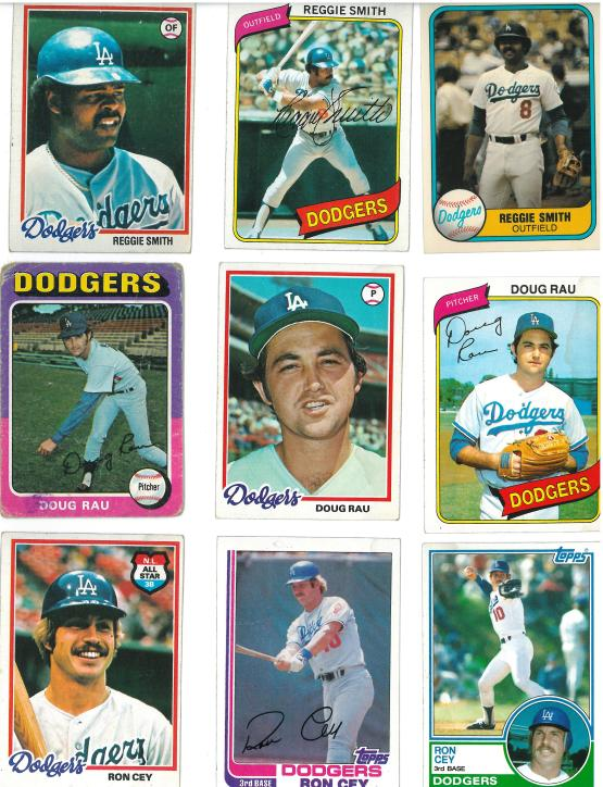 I believe that it was SPORT magazine that described Ron Cey thusly... Walks like a duck. Hits like a truck.