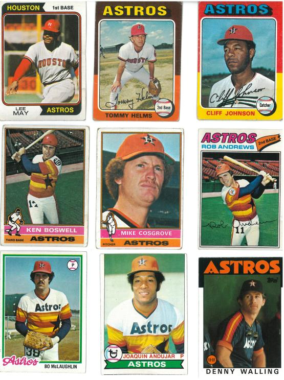 Well, except for the Lee May card from 1974.  Those jerseys were horrible.