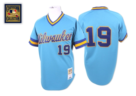 Of *course* I'm using Robin Yount's jersey.