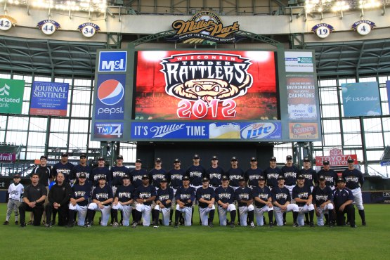Team Photo at Miller Park