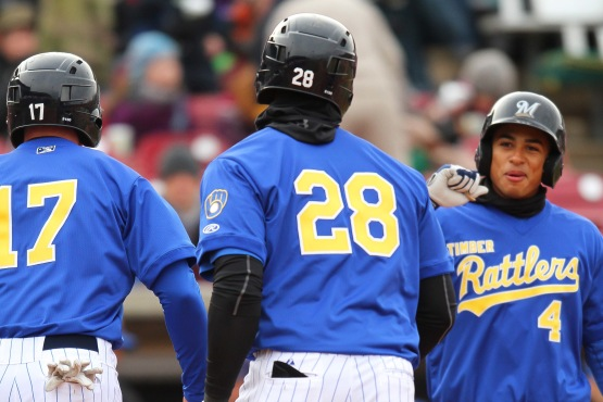 Chris McFarland is impressed with the Victor Roache homer.