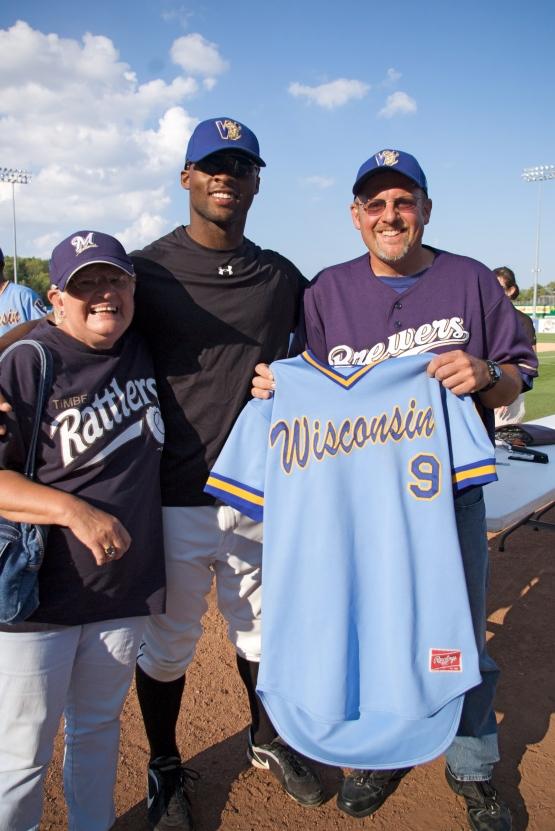 D'Vontrey Richardson's jersey
