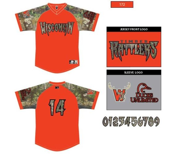 You can go hunting in this jersey this fall.
