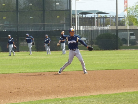 Angel Ortega at short.