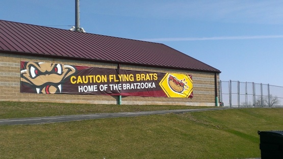 Watch out for Flying Bratwurst.