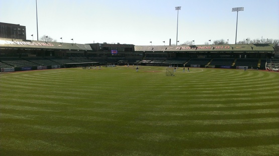 Four Winds Field in South Bend, Indiana!