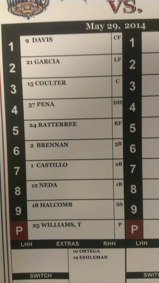May 29 lineup