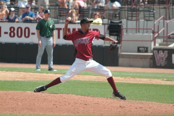 Adrian Rosario as a Timber Rattler.
